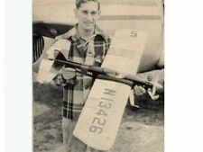 """RINGMASTER  40"""" Wing Span  Control Line Stunt Plane    Laser Cut Short kit"""