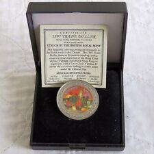 1997 Hong Kong vuelva a China Color prueba dólar comercial a-en Caja/cert. de autenticidad