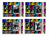 2017 JOHN LENNON BEATLES MUSIC 32 BLOCKS MNH UNPERFORATED COMPLETE SET