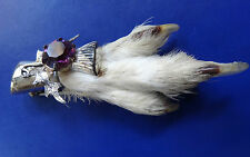 Rhinestone Silver Brooch/Pin Art Deco Costume Jewellery