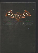 NEW:Batman Arkham Knight Collector's Editon Strategy Guide H/C With Small Poster