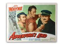 """Adventures End"" Original 11x14 Authentic Lobby Card Poster Photo 1949 Wayne"
