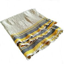 Linen towel for the bath of the sea basin. Bilateral European Weaving