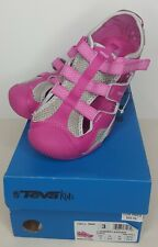 NWOT Youth Girls Teva Jansen Pink Water Sports Sandals Shoes Size 3