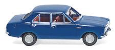 Wiking 020304 - 1/87 Ford Escort - Dunkelblau - Neu