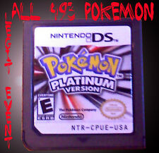 Pokemon Platinum Loaded ALL 493 Shiny + Legit Event UNLOCKED Arceus Mew Deoxys