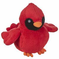 "6"" GANZ Darling Plush Red Cardinal Bird Christmas Soft Doll Holiday Decor Gift"