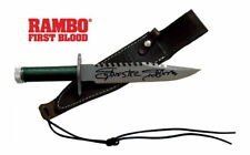 Sylvester Stallone John Rambo Autographed FIRST BLOOD RAMBO Knife ASI Proof