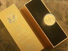 UNC Ballistic Roll Presidential Dollars JEFFERSON with Gold Ingot Gift Box