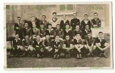 OLD POSTCARD ROYAL NAVY FOOTBALL TEAM MALTA ELLIS REAL PHOTO VINTAGE 1920S