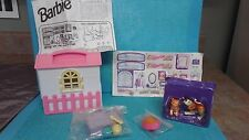 Vintage Mattel Barbie Pet Playset 1997 nos dog house Kittie cat