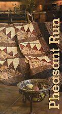 Pheasant Run Quilt Pattern Pieced/Applique DF