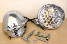 "4"" LED Spotlights-Builtin Eagle Visor-12V-21W-MotorBikes/Cycles-Trike-Sidelight"