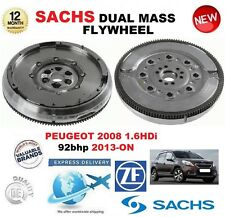 FOR PEUGEOT 2008 1.6 HDi 92bhp 2013-ON SACHS DMF DUAL MASS FLYWHEEL & BOLTS