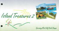 GUERNSEY 1998 ISLAND TREASURES II Presentation Pack + 2 STAMP BOOKLET