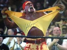 Hulk Hogan Signed Autographed Wrestling 16x20 Photo WWE Hollywood Hogan Proof