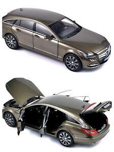 1/18 Norev Mercedes-Benz CLS-Klasse Brake 2012 Ivory Neuf Livraison Domicile