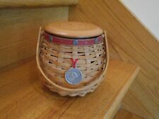 Longaberger Let Me Call You Sweetheart Basket Set rose lid *shipping included!*