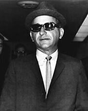 Sicilian Gangster, Mobster SAM GIANCANA Glossy 8x10 Photo Mob Print Mafia Poster