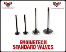 16 ENGINETECH CHEVY GENIII 4.8 5.3 LR4 LM7 EXHAUST AND INTAKE VALVES 1.89 1.551