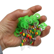 100pcs/Set Connector Gel Float Stopper Space Beans Pin Fishing Tackle Supplies