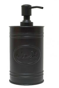 Autumn Alley Farmhouse Black Soap Dispenser - Farmhouse Bathroom Decor