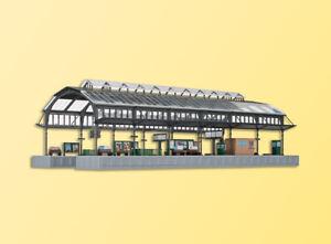 kibri 37758 Spur N, Bahnsteighalle grau #NEU in OVP#