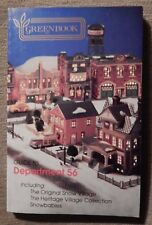 DEPARTMENT 56~GREENBOOK GUIDE~FIRST EDITION 1991~SNOW VILLAGE, HERITAGE, BABIES