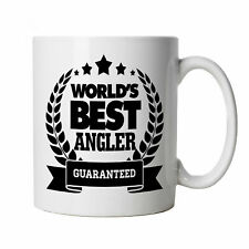 World's Best Angler Mug, Angling, Fishing Gift for Him, Dad, Fathers Day Gift