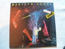 MARILYN SCOTT Without Warning Orig 1983 NM/VG+ Mercury 812-185-1M-1 Vinyl ST/Lp