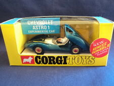 Corgi 1960's Rare Chevrolet Astro 1 Experimental Car No: 347 MINT Ex Shop Stock