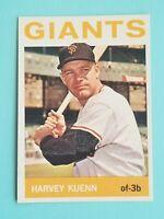 Topps 1964 San Francisco Giants Trading Card Harvey Kuenn #242