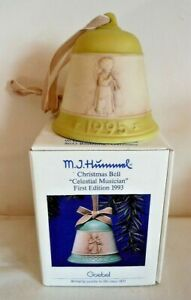Vintage Goebel Boxed Christmas Bell, Harmony Flute, Third Edition c.1995