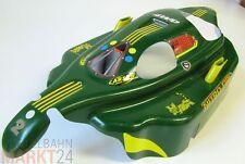 RC Auto Karosserie 4WD grün/gelb ca. 38,5 x 20 x 9 cm Maßstab 1:8 1:10