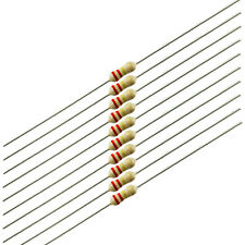 1/4 Watt Carbon Film Resistors, 220K ohm, 10 pieces