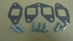 Triumph TR7 ** EXHAUST MANIFOLD GASKET SET to Head + Bolts **