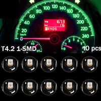 10X Green T4/T4.2 Neo Wedge Bulb Cluster Instrument Dash Climate Light HY Sales
