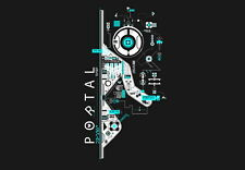 "035 Portal 2 - First Person Puzzle Platform Video Game 20""x14"" Poster"