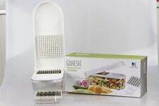 Ganesh Vegetable & Fruit Chopper/Dicer (Includes FREE Chop Blade & Cleaning Tool