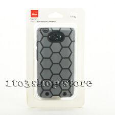 Verizon Motorola Moto Droid Turbo Geometric Case Cover Skin Black Gray NEW