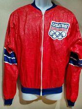 Rare Vintage  USA' 88 Atlanta  Windbreaker Jacket Athletic Sz XL  Made in Italy