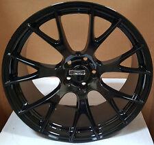 20x9 Rims Gloss Black Wheels Hellcat Style Fit Dodge Challenger SRT Charger 300C