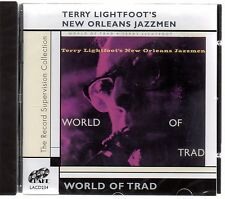 Terry Lightfoot's New Orleans Jazzmen - World of Trad (brand new CD) lightfoot