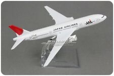 JAPAN AIRLINES JAL BOEING 777 Passenger Airplane Plane Aircraft Diecast Model