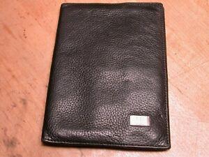 Vintage Dunhill Black Leather Wallet Billfold