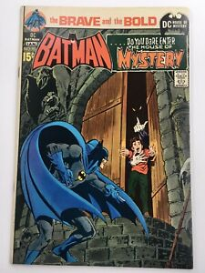 Brave And The Bold #93 DC Bronze Age 1971 Batman Comic Book VF (8.0) Neal Adams