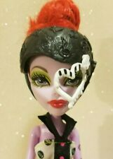Monster High Doll Skultimate Roller Maze Operetta w/Helmet Shoes Knee Pads GUC!