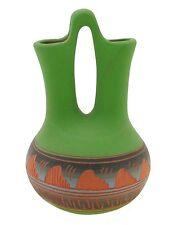 Small Native American Navajo Wedding Vase Signed