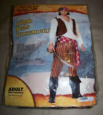 SEVEN SEAS MATE PIRATE HALLOWEEN COSTUME MEN/'S One Size Up to 42 Pirates New I