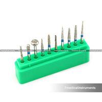 Dental Diamond Burs Set For onlay 10PCS FG1.6MM